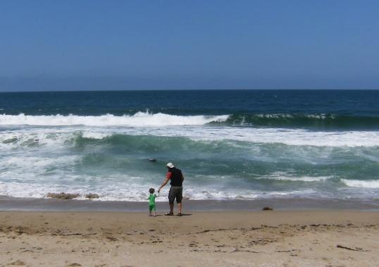 Big Ocean, Little Girl